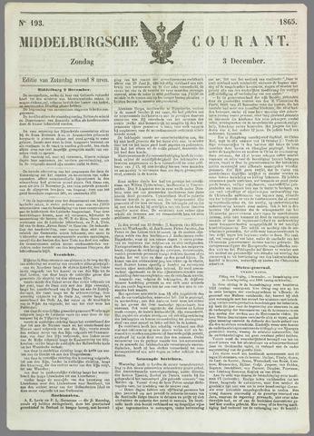 Middelburgsche Courant 1865-12-03