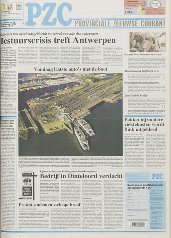 Provinciale Zeeuwse Courant 2003-03-14