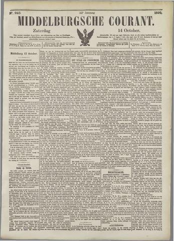 Middelburgsche Courant 1899-10-14