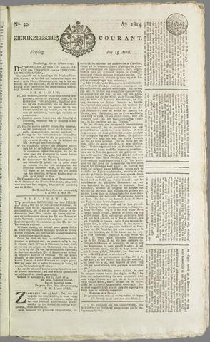 Zierikzeesche Courant 1814-04-15