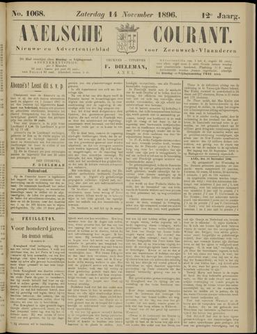Axelsche Courant 1896-11-14