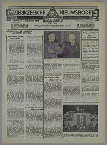 Zierikzeesche Nieuwsbode 1941-10-16