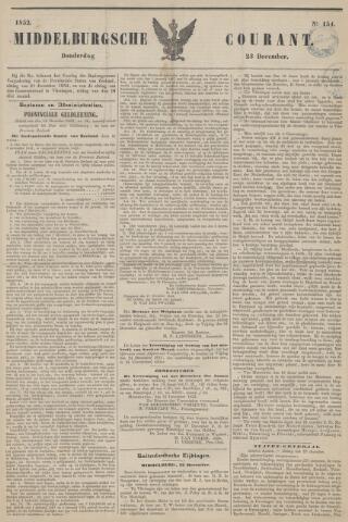 Middelburgsche Courant 1852-12-23