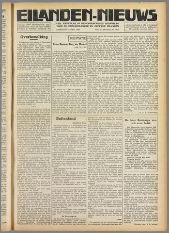 Eilanden-nieuws. Christelijk streekblad op gereformeerde grondslag 1949-04-09