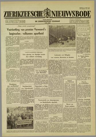 Zierikzeesche Nieuwsbode 1960-04-12