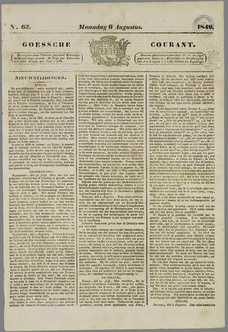 Goessche Courant 1849-08-06