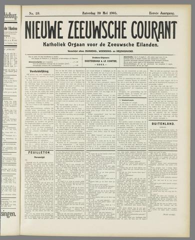 Nieuwe Zeeuwsche Courant 1905-05-20