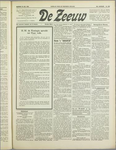 De Zeeuw. Christelijk-historisch nieuwsblad voor Zeeland 1934-07-16
