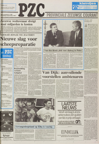 Provinciale Zeeuwse Courant 1987-09-02
