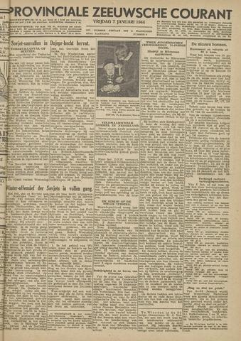 Provinciale Zeeuwse Courant 1944-01-07