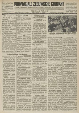Provinciale Zeeuwse Courant 1942-02-11