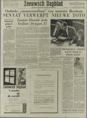 Zeeuwsch Dagblad 1960-09-14