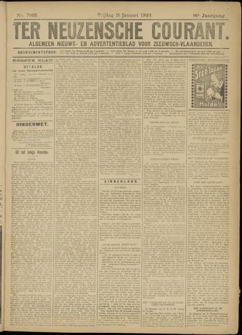 Ter Neuzensche Courant. Algemeen Nieuws- en Advertentieblad voor Zeeuwsch-Vlaanderen / Neuzensche Courant ... (idem) / (Algemeen) nieuws en advertentieblad voor Zeeuwsch-Vlaanderen 1926-01-15