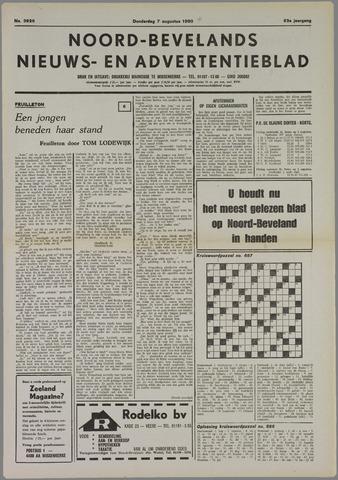 Noord-Bevelands Nieuws- en advertentieblad 1980-08-07