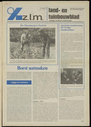 Zeeuwsch landbouwblad ... ZLM land- en tuinbouwblad 1982-10-15