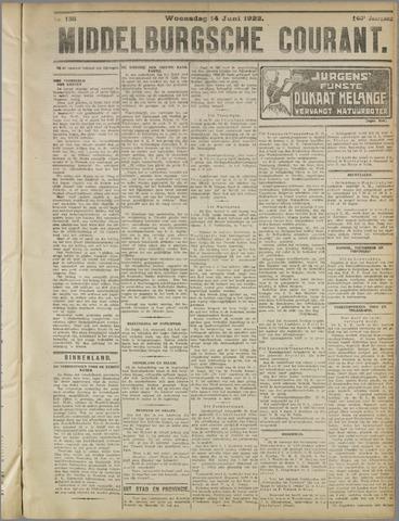 Middelburgsche Courant 1922-06-14