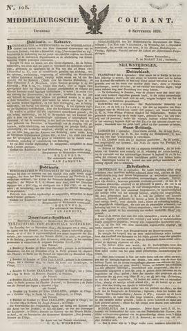 Middelburgsche Courant 1834-09-09