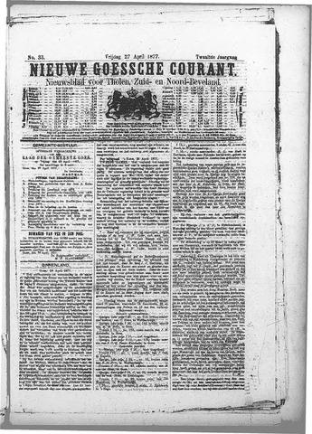 Nieuwe Goessche Courant 1877-04-27