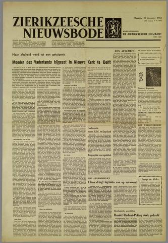 Zierikzeesche Nieuwsbode 1962-12-10