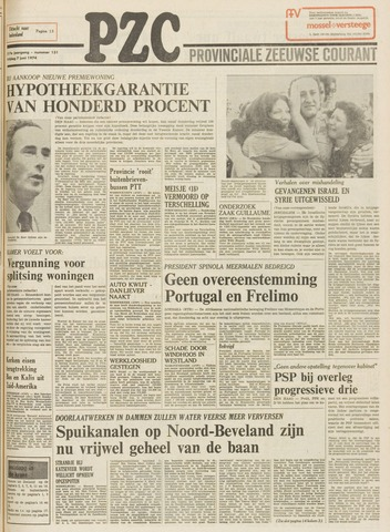 Provinciale Zeeuwse Courant 1974-06-07