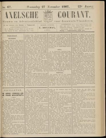 Axelsche Courant 1907-11-27