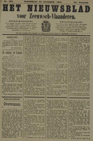 Nieuwsblad voor Zeeuwsch-Vlaanderen 1900-10-24