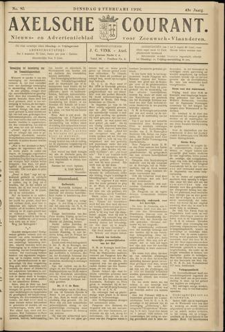 Axelsche Courant 1926-02-02