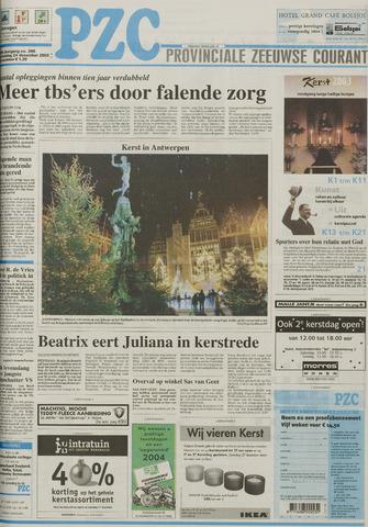 Provinciale Zeeuwse Courant 2003-12-24