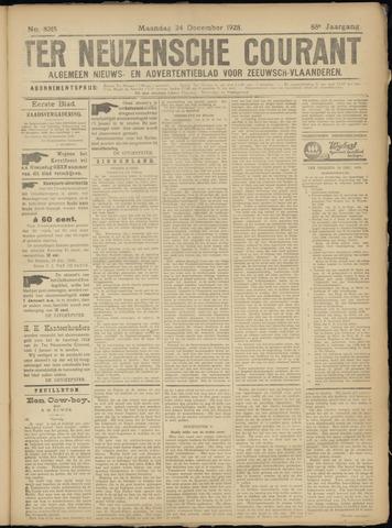 Ter Neuzensche Courant. Algemeen Nieuws- en Advertentieblad voor Zeeuwsch-Vlaanderen / Neuzensche Courant ... (idem) / (Algemeen) nieuws en advertentieblad voor Zeeuwsch-Vlaanderen 1928-12-24