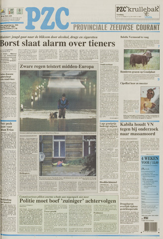 Provinciale Zeeuwse Courant 1997-07-08