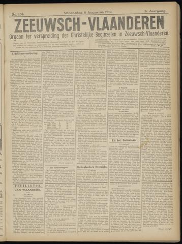 Luctor et Emergo. Antirevolutionair nieuws- en advertentieblad voor Zeeland / Zeeuwsch-Vlaanderen. Orgaan ter verspreiding van de christelijke beginselen in Zeeuwsch-Vlaanderen 1919-08-06