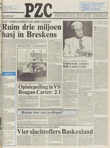 Provinciale Zeeuwse Courant 1980-07-25