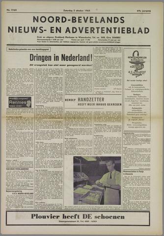Noord-Bevelands Nieuws- en advertentieblad 1965-10-02