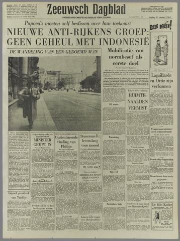 Zeeuwsch Dagblad 1961-10-27