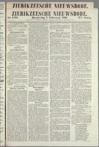 Zierikzeesche Nieuwsbode 1881-02-03