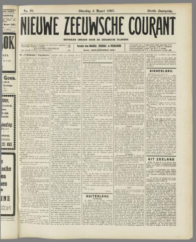 Nieuwe Zeeuwsche Courant 1907-03-05