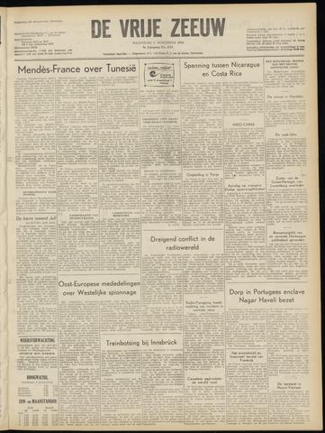 de Vrije Zeeuw 1954-08-02
