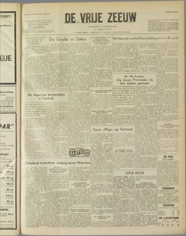 de Vrije Zeeuw 1958-08-27