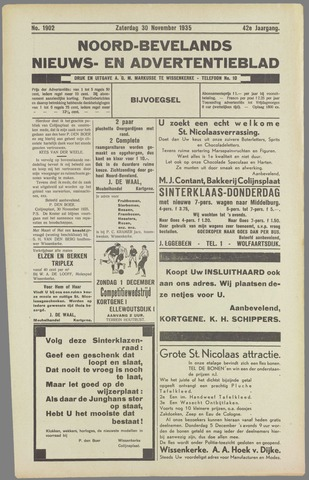 Noord-Bevelands Nieuws- en advertentieblad 1935-11-30