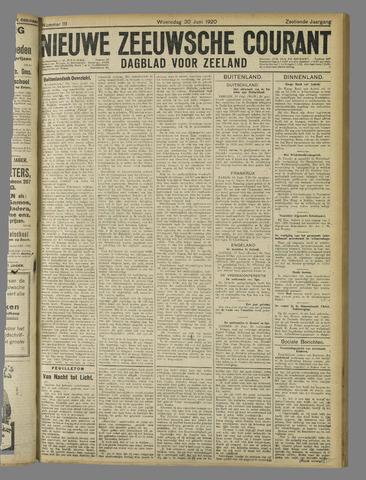 Nieuwe Zeeuwsche Courant 1920-06-30