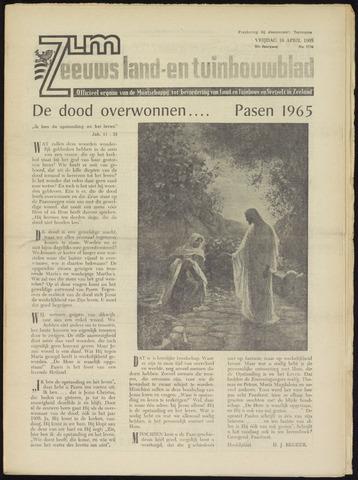 Zeeuwsch landbouwblad ... ZLM land- en tuinbouwblad 1965-04-16