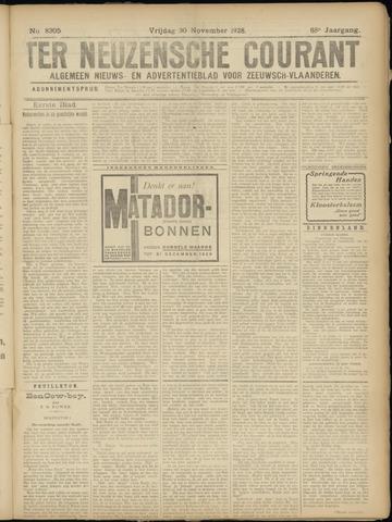 Ter Neuzensche Courant. Algemeen Nieuws- en Advertentieblad voor Zeeuwsch-Vlaanderen / Neuzensche Courant ... (idem) / (Algemeen) nieuws en advertentieblad voor Zeeuwsch-Vlaanderen 1928-11-30