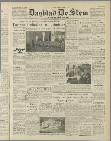 de Stem 1954-02-09