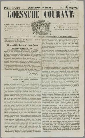 Goessche Courant 1864-03-24