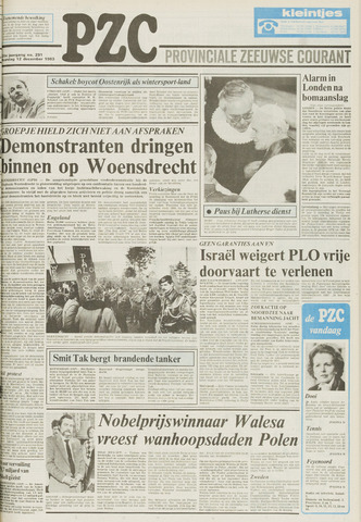 Provinciale Zeeuwse Courant 1983-12-12