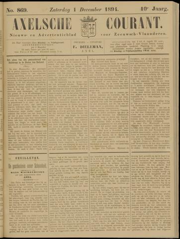 Axelsche Courant 1894-12-01