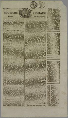 Goessche Courant 1822-01-11