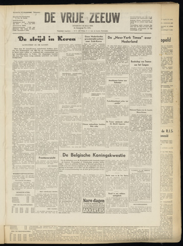 de Vrije Zeeuw 1950-07-18