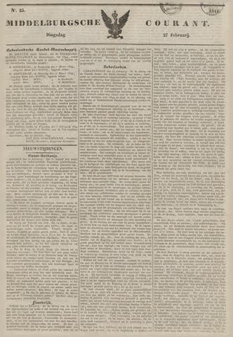Middelburgsche Courant 1844-02-27