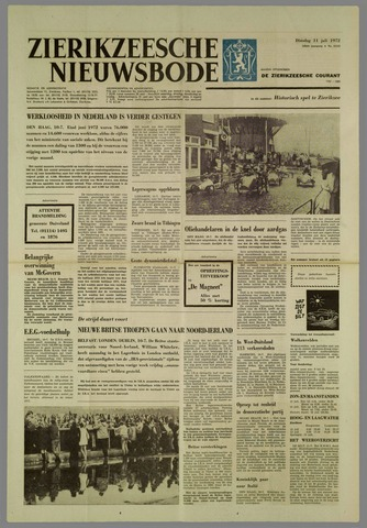 Zierikzeesche Nieuwsbode 1972-07-11